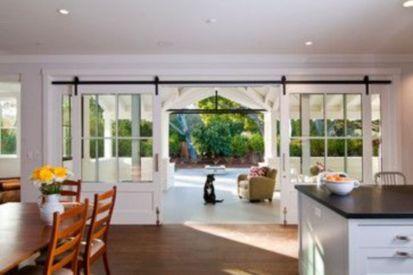 Popular modern french country kitchen design ideas 48