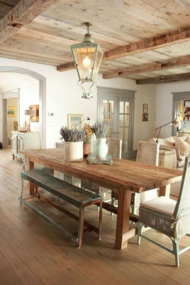 Popular modern french country kitchen design ideas 51