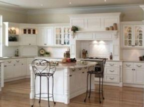 Popular modern french country kitchen design ideas 52