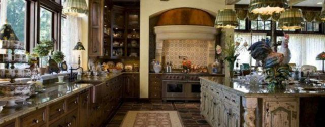 Modern French Country Kitchen Design Ideas Archives Round Decor