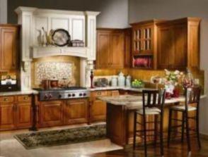 Popular modern french country kitchen design ideas 56