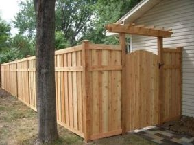 Popular privacy fence ideas 10