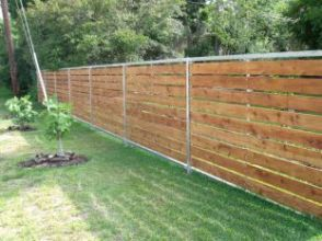 Popular privacy fence ideas 16