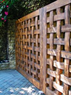 Popular privacy fence ideas 17