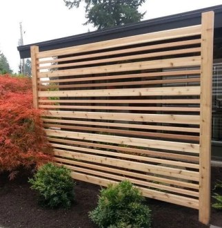Popular privacy fence ideas 21