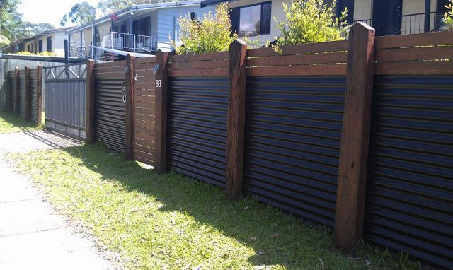 Popular privacy fence ideas 22