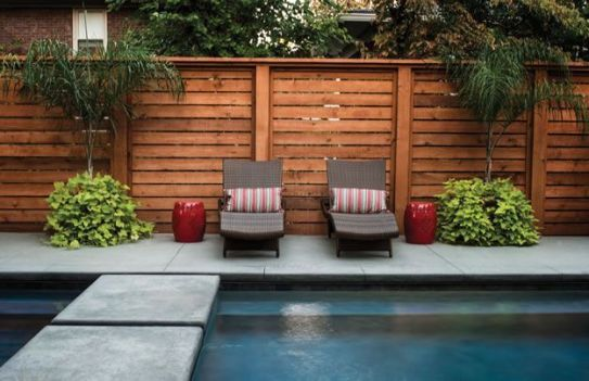 Popular privacy fence ideas 30