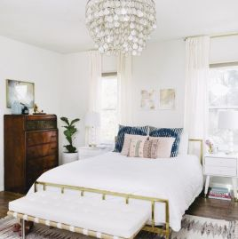 Simple master bedroom remodel ideas for summer 33