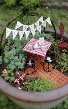 Stunning fairy garden decor ideas 03