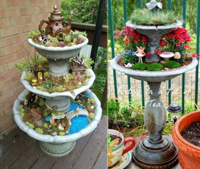 Stunning fairy garden decor ideas 09