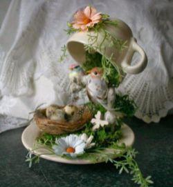 Stunning fairy garden decor ideas 29