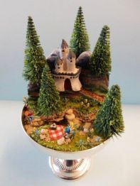 Stunning fairy garden decor ideas 37