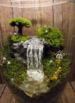 Stunning fairy garden decor ideas 38