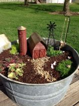 Stunning fairy garden decor ideas 39