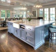 Stunning farmhouse kitchen cabinet ideas 02