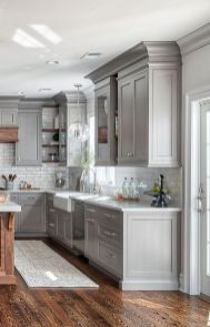 Stunning farmhouse kitchen cabinet ideas 22