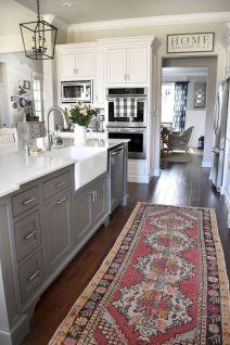 Stunning farmhouse kitchen cabinet ideas 42