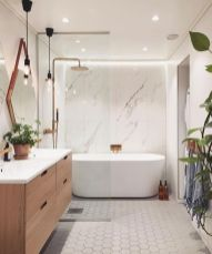 Stunning scandinavian bathroom design ideas 11