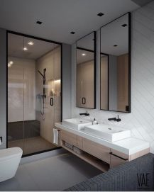 Stunning scandinavian bathroom design ideas 32