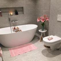 Stunning scandinavian bathroom design ideas 34