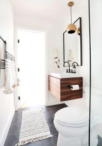 Stunning scandinavian bathroom design ideas 40
