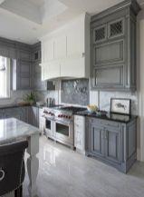 Stylish modern farmhouse kitchen makeover decor ideas 01