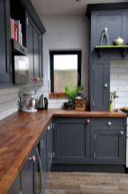 Stylish modern farmhouse kitchen makeover decor ideas 39