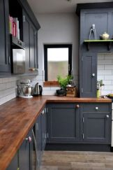 Stylish modern farmhouse kitchen makeover decor ideas 39