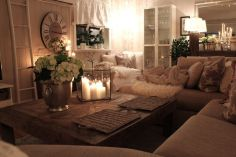 Ultimate romantic living room decor ideas 05