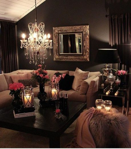 Ultimate romantic living room decor ideas 21