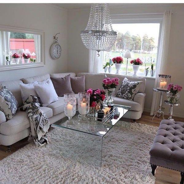 51 Ultimate Romantic Living Room Decor Ideas