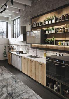 Unique modern contemporary kitchen ideas 10