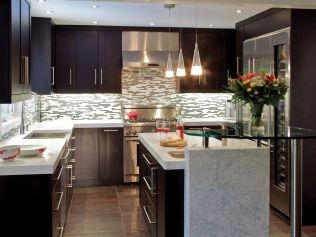 Unique modern contemporary kitchen ideas 24