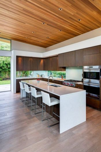 Unique modern contemporary kitchen ideas 46