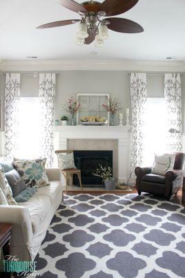 Adorable apartment living room decorating ideas 08