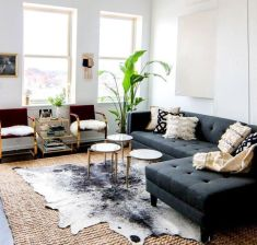 Adorable apartment living room decorating ideas 18