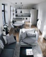 Adorable apartment living room decorating ideas 38