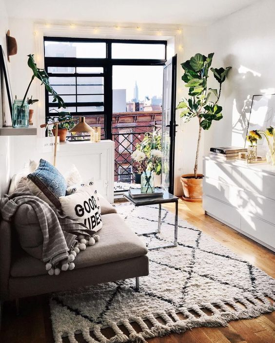 Adorable apartment living room decorating ideas 51