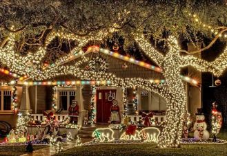 Awesome winter yard decoration ideas 37