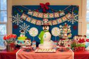 Charming winter wonderland party decoration kids ideas 05