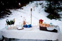 Charming winter wonderland party decoration kids ideas 23