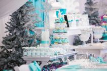 Charming winter wonderland party decoration kids ideas 26