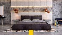 Creative diy wall decor suitable for bedroom ideas 03