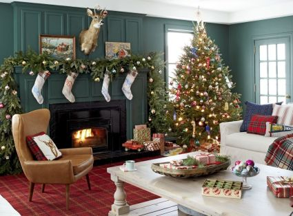 Fascinating christmas tree ideas for living room 03