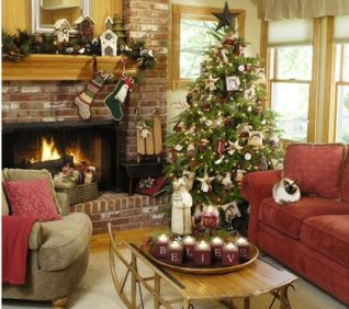 Fascinating christmas tree ideas for living room 21