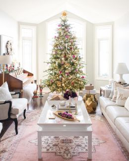 Fascinating christmas tree ideas for living room 25