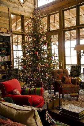 Fascinating christmas tree ideas for living room 33
