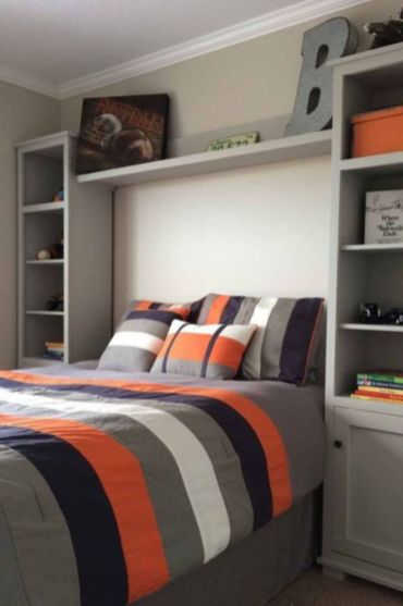 Latest diy organization ideas for bedroom teenage boys 07