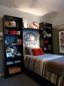 Latest diy organization ideas for bedroom teenage boys 42