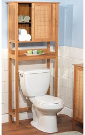 Lovely diy bathroom organisation shelves ideas 03